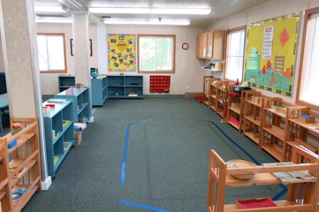 Preschoolers Classroom